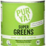Purya! Bio Super Greens, 1er Pack (1 x 150 g)
