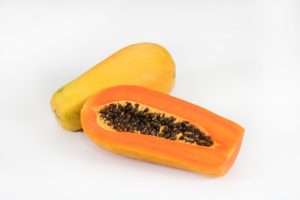 papaya kerne roh essen