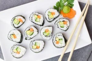 blumenkohl sushi
