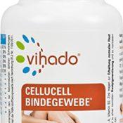 Vihado Cellucell Bindegewebe Tabletten - Cellulite Orangenhaut - 60 Kapseln, 1er Pack (1 x 46,8 g)